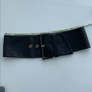 a3d460ea805a Prada Accessories - Prada grey leather waist belt